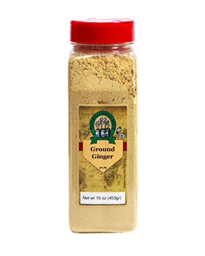 International Spice Premium Gourmet Spices- GINGER GROUND: 16 oz