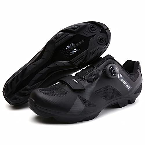 Zapatillas de Ciclismo Unisex compatibles con Peloton Indoor Road Bike Shoes Zapatillas de Montar para Hombres y Mujeres Look Delta Cleats SPD Clip Outdoor Pedal