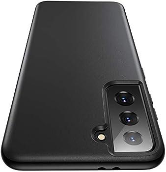 Humixx Galaxy S21+ Plus Anti-Fingerprints Leather Hard Case