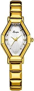 Xiangjin Wrist Watches,Women Business Stainless Steel Bucket Shape Quartz Wrist Watch Bracelet