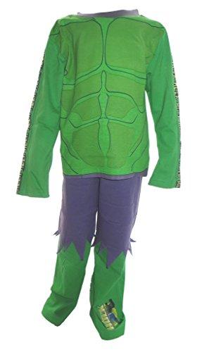 Der unglaubliche Hulk Pyjamas Jungs im Alter 7-8 Jahre