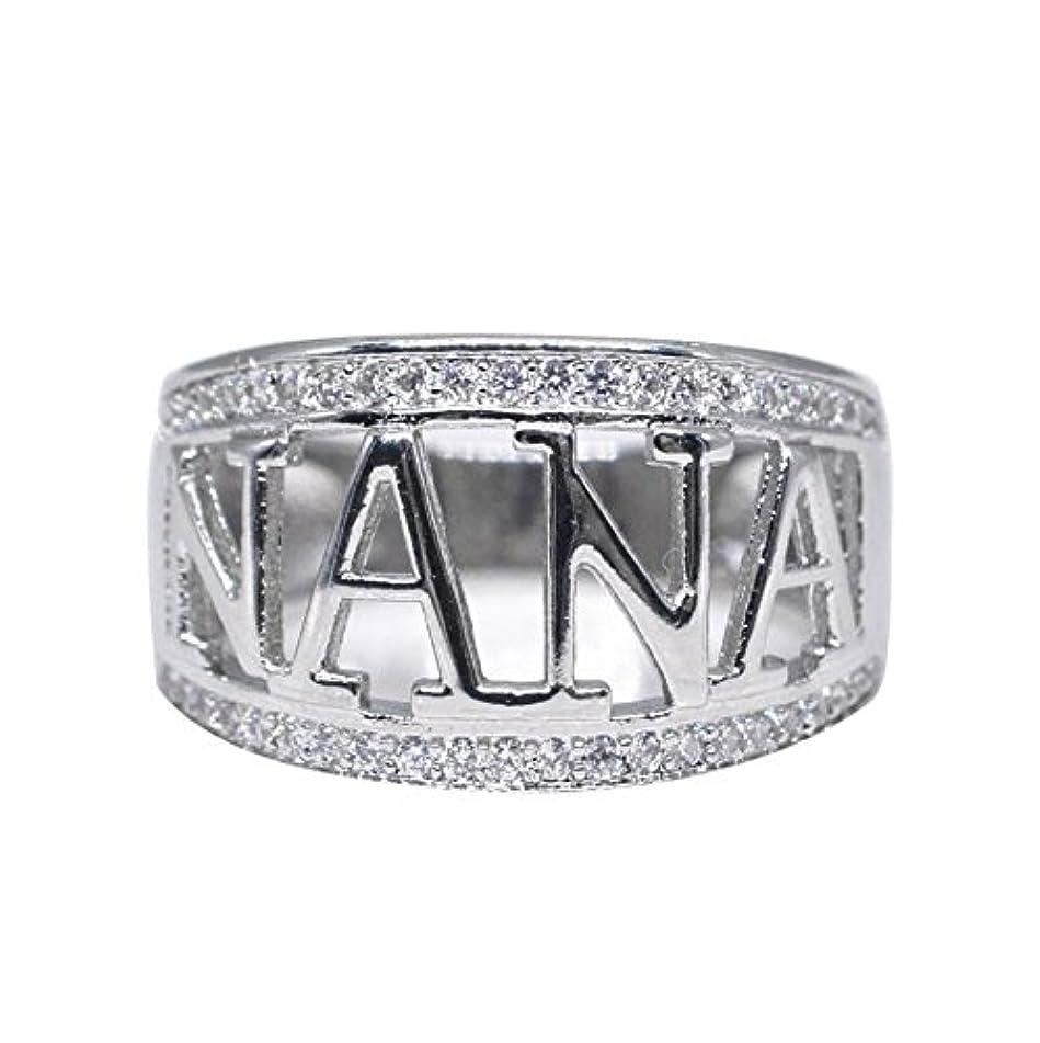 Gyoume Exquisite Nana Ring,Women Diamond Rings Birthday Present Cubic Zirconia Diamond Ring