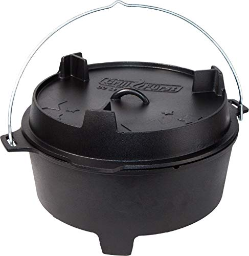 Grillfürst Dutch Oven ca. 12 Liter -...