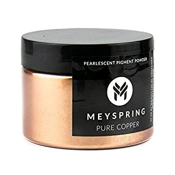 MEYSPRING Pure Copper Epoxy Resin Color Pigment - 50 Grams - Great for Resin Art Epoxy Resin and UV Resin