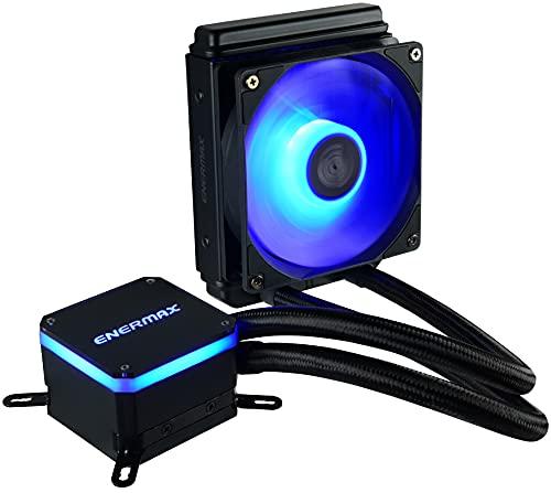 Enermax Liqmax III 120 RGB AIO CPU Liquid Cooler, AMD AM4/Intel LGA 1200/1151, Dual Chamber Pump, 12V 4-PIN RGB, 5-Yr Warranty