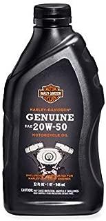 De Harley Davidson® Genuine SAE 20W de 50Motorcycle Oil 62600017
