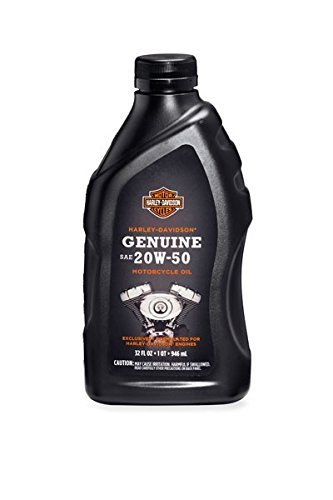 Harley-Davidson® Genuine SAE 20W-50 Motorcycle Oil 62600017