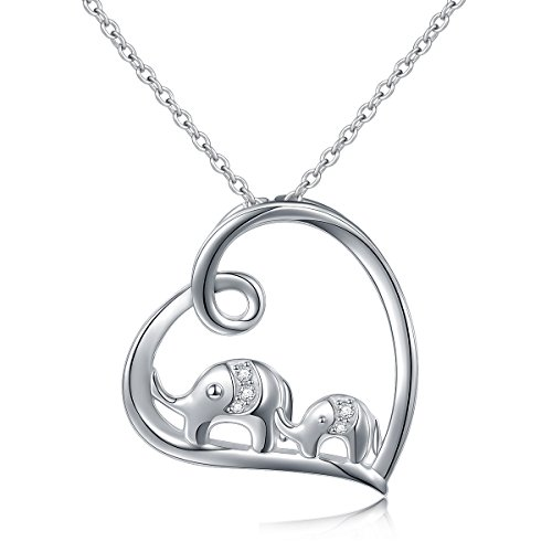 (45% OFF Coupon) Sterling Silver Elephant Necklace $11.96