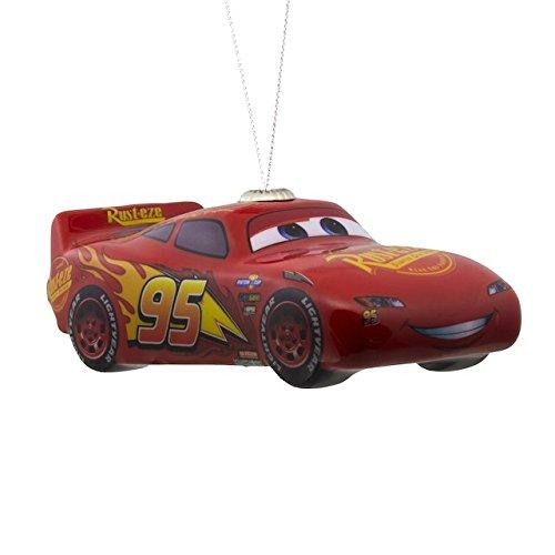 Hallmark Disney Pixar Cars Lightning McQueen Decoupage Christmas Ornament