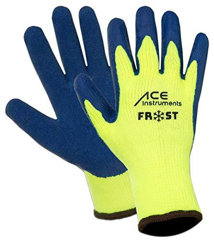 3 Paar ACE Frost Winter-Arbeitshandschuhe - wasserdichte Handschuhe gegen Kälte - EN 388 & EN 511 - Gr 10 (XL)