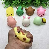 YEZININHAO Squishy Toys - Jumbo Cute Cat Antistress Ball Squeeze Mochi Rising Abreact Soft Sticky Stress Relief Funny Gift Toy