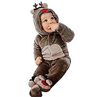 ☞ S: Busto: 48cm; Lunghezza: 59cm; Adatto per altezza 60cm ☞ M: Busto: 48cm; Lunghezza: 64cm; Adatto per altezza 70cm ☞ L: Busto: 50cm; Lunghezza: 69cm; Adatto per altezza 80cm ☞ Pacchetto compreso: un pagliaccetto animale del bambino (altri accessor...