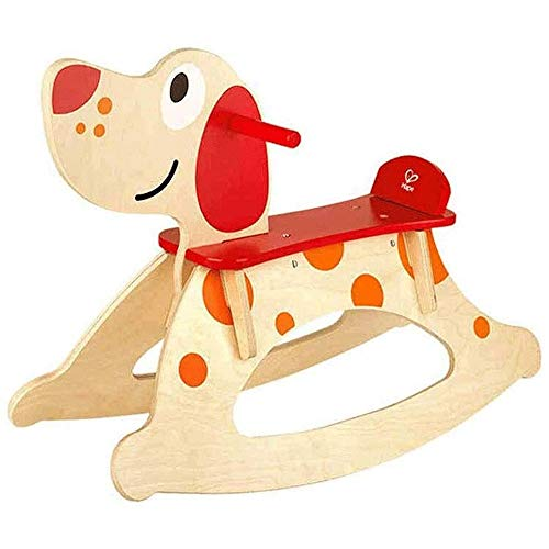 XWX Massivholz-Schaukelpferd Von Kindern Baby 1-jähriger Baby-Spielzeug-Geburtstagsgeschenk