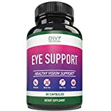Eye Support Supplement - Healthy Vision Support with Vitamins A + C + E +B12,...