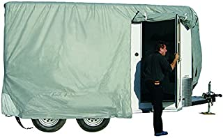 ADCO 46003 SFS Aqua-Shed Bumper-Pull Horse Trailer Cover - 12'1