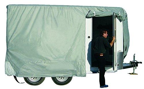 ADCO 46001 SFS Aqua-Shed Bumper-Pull Horse Trailer Cover - 8'-10'