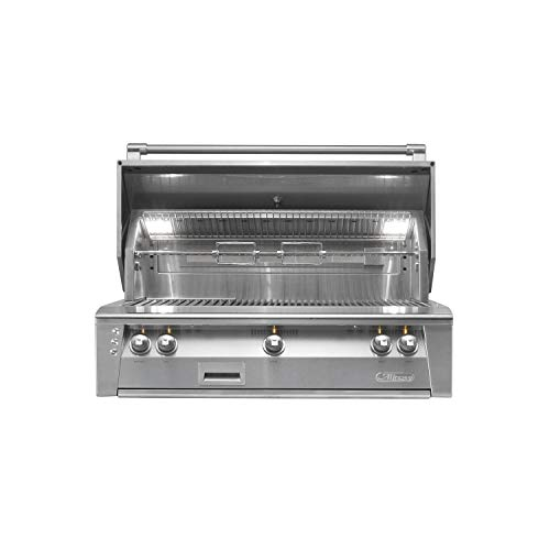 "Alfresco ALXE-42-NG 42"" Standard Grill Natural Gas Built In Stainless"