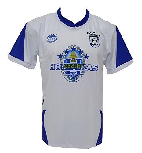 Arza Sports Honduras Men's Soccer Jersey (X-Large) White