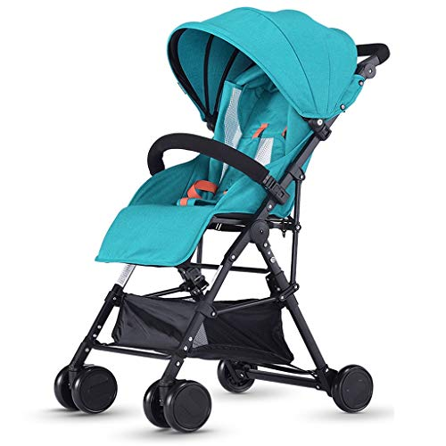 Best Bargain Baby Stroller can sit Reclining Light Folding Simple Stroller Child Baby Four Seasons U...