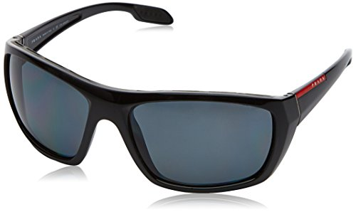 Prada LINEA ROSSA 0PS 06SS Gafas de sol, Black, 61 para Hombre
