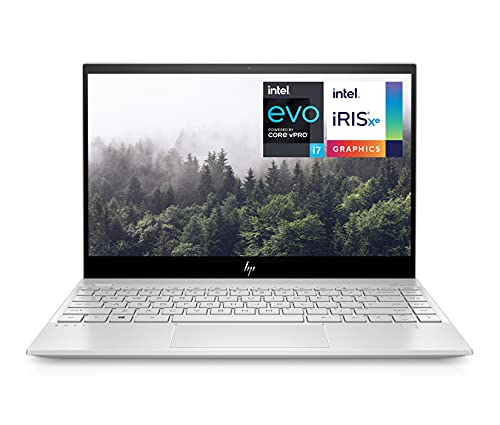 "HP ENVY 13-ba1002sf PC Ultraportable 13,3"" FHD IPS Argent (Intel Evo Core i7, RAM 16 Go, SSD 512 Go, Iris Xe, AZERTY, Windows 10)"