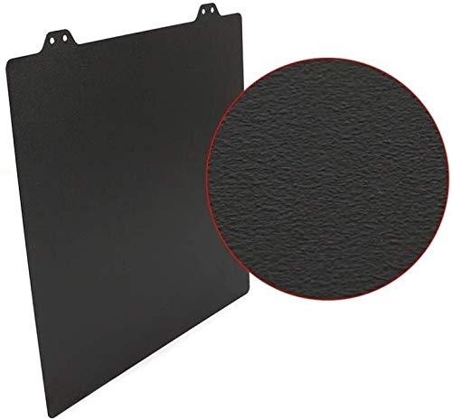 Durevole 220/235 / 300mm MK52 Double Sided Textured PEI Spring Steel Sheet Verniciato a polvere PEI per Prusa i3 mk3 MK3S Ender-3 Anet A8 Wanhao Accessori per la stampa 3D (Dimensioni: 241x253,8 mm)