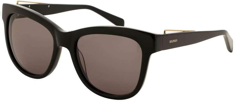 Balmain sunglasses (BL2111 01) Shiny Black  gold Copper  Grey lenses