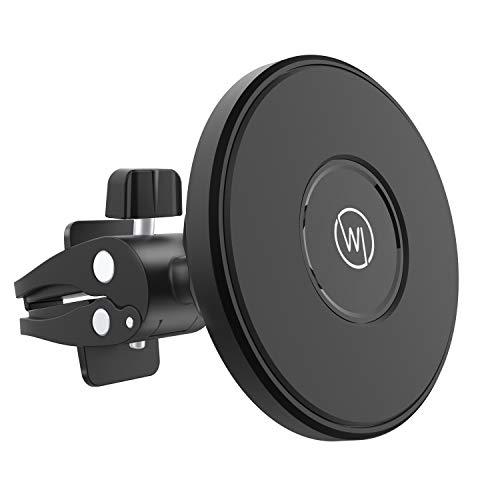 Wicked Chili KFZ-Magnethalterung kompatibel mit Magsafe iPhone 13/12 (Pro Max Mini) Magnet-Autohalterung für magnetische Hüllen und Cases, Passive Auto-Handyhalterung für Lüftung
