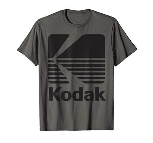 80er Jahre Vintage Kodak Logo - schwarz T-Shirt