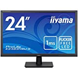 iiyama ProLite E2483HSU-B5 24 inch LED 1ms Monitor - Full HD 1080p, 1ms