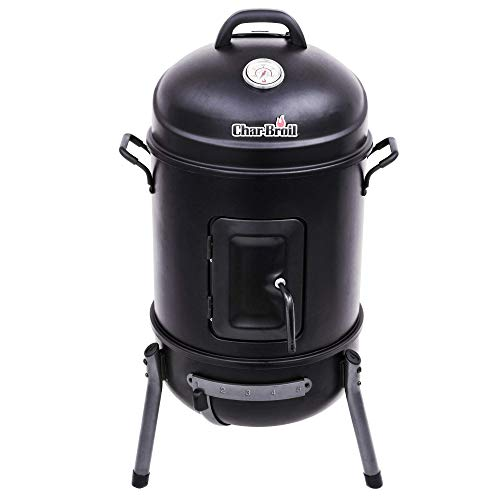 Char-Broil 140 871 - Traditional Bullet Smoker, black