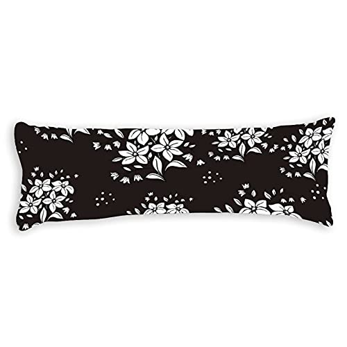 CiCiDi Side Sleeper Pillow Cover 450x150 cm Premier Prints Luxe Outdoor Lenore Matte Breathable Cushion Covers with Zip Cotton and Polyester