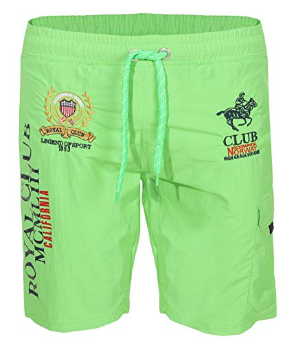 Geographical Norway Badehose QIWI - Flashy Green - XXL