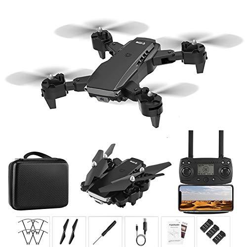 QUANXI Drone K2 com câmera 4K,transmissão GPS 5G FPV Drone dobrável para iniciantes e adultos,Quadcopter RC com GPS Return Home,Me siga,3D Flip,Controle de gestos,tempo de vôo longo (3 * baterias)