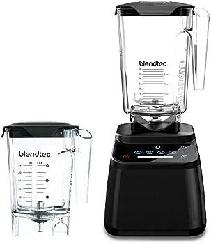 Blendtec Designer 625 Blender with WildSide+ Jar & Mini WildSide+ Jar