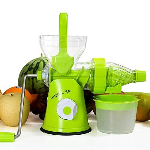 Sunronal Kitchen Manual Juicer, tragbare Gemüsemühle für Obstsalat und grünes Blattgemüse