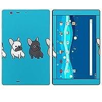 igsticker Qua tab PZ LGT32 全面スキンシール タブレット tablet LGエレクトロニクス シール ステッカー ケース 保護シール 背面 016446 犬 イラスト 動物