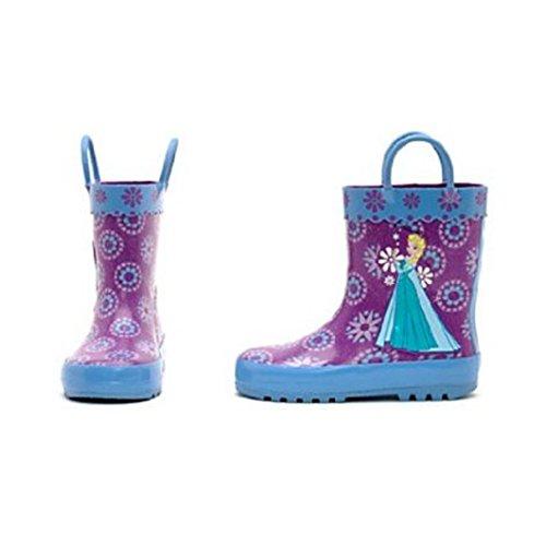 Disney La Reine des Neiges - Bottes de pluie La Reine des neiges pour enfants. taille UK 9 ---- EU 27
