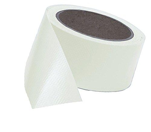 Witte plusguide 7€/m Trucker-Tape, Planen-Reparatur-Band in weiß auch p.f. Markise, Überdachung, Zelt