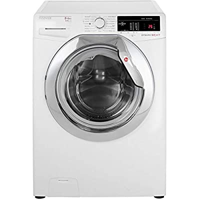 Hoover Dynamic Next WDXOA486AC 8Kg / 6Kg Washer Dryer with 1400 rpm - White / Chrome