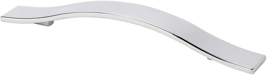 TOPEX HARDWARE Z01491600041 TOPEX HARDWARE Z01491600041 Flat Wide Bow Pull, 160mm, Bright Chrome, 160mm, Bright Chrome