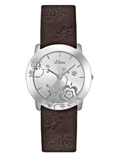 s.Oliver Damen-Armbanduhr SO-1661-LQ