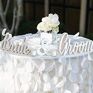 Best bride and groom table Reviews