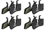 DiscoBrakes 4 Sets Ceramic Pro Beläge für Magura MT5 Scheibenbremse MT 5, Enduro DH XC