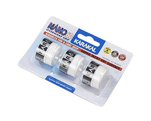 Karakal NANO60 Overwrap Grip - 3 Griffbänder - universal