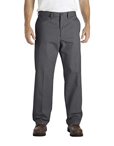 Dickies - - LP817 Männer Industrie-Flat Front Comfort Waist Pant, 56W x 32L, Charcoal