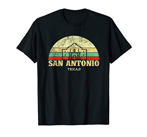 Retro The Alamo San Antonio Texas tshirt Lone Star State Tee