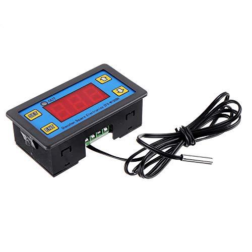 JOMOSIN BVCC313 5 unids W1308H LED microordenador pantalla digital controlador de temperatura termostato ajustable controlador de tiempo saludable 12 V