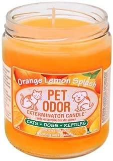 Best pet odor exterminator candle scents Reviews