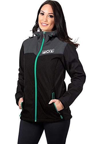 FXR Womens Pulse Softshell Jacket Waterproof Breathable Warm Fleece...